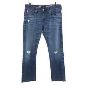 AG ADRIANO GOLDSHMIED Men's Slouch Slim Jeans #H16